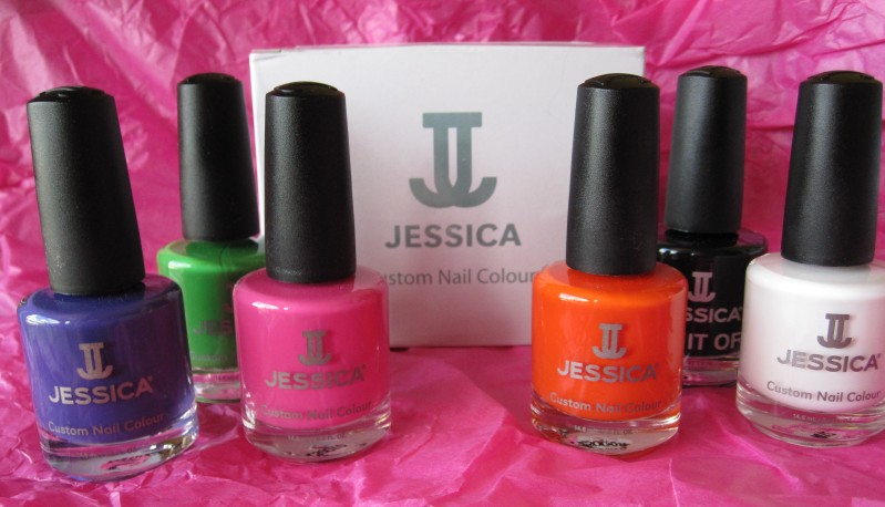 Jessica Cosmetics-Nail Polish Review: Party Chic Summer Colour ...