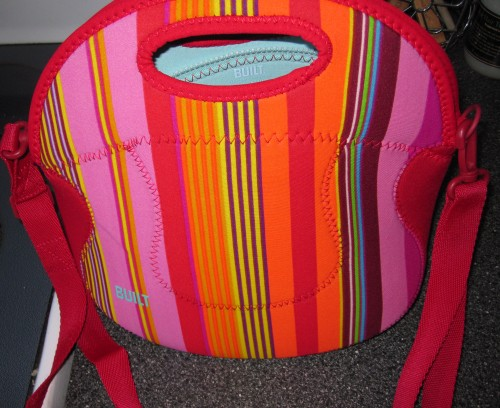 BUILT lunch purse with strap
