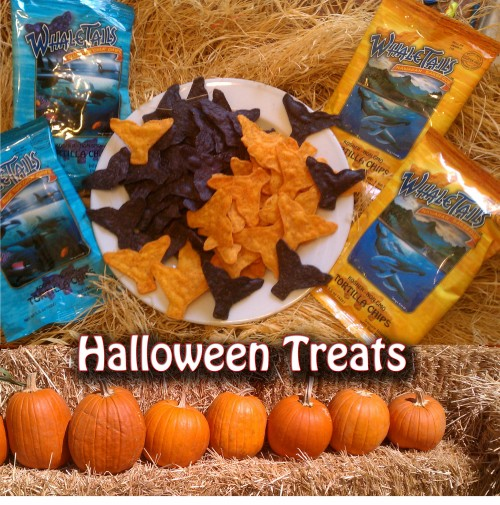 halloween treats from Whale Tails Chips
