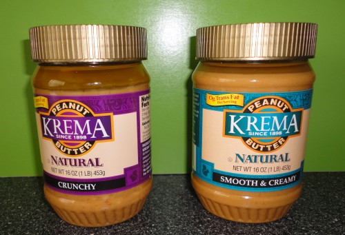 krema natural peanut butter