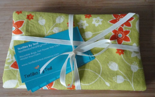reusable bags from Textiles by Teal